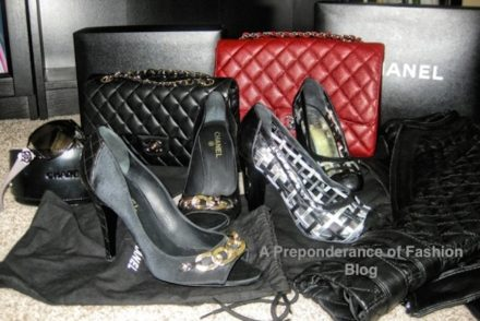 Authentic Chanel bags and shoes